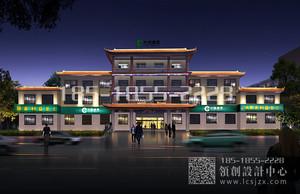 河北景县烟草局夜景照明设计